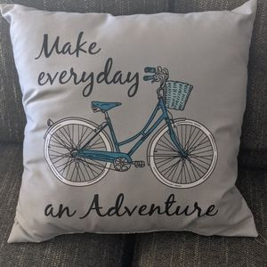 ADVENTURE BICYCLE PILLOW
